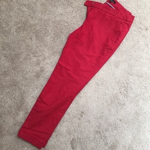 Dalia size 8 red ankle pants